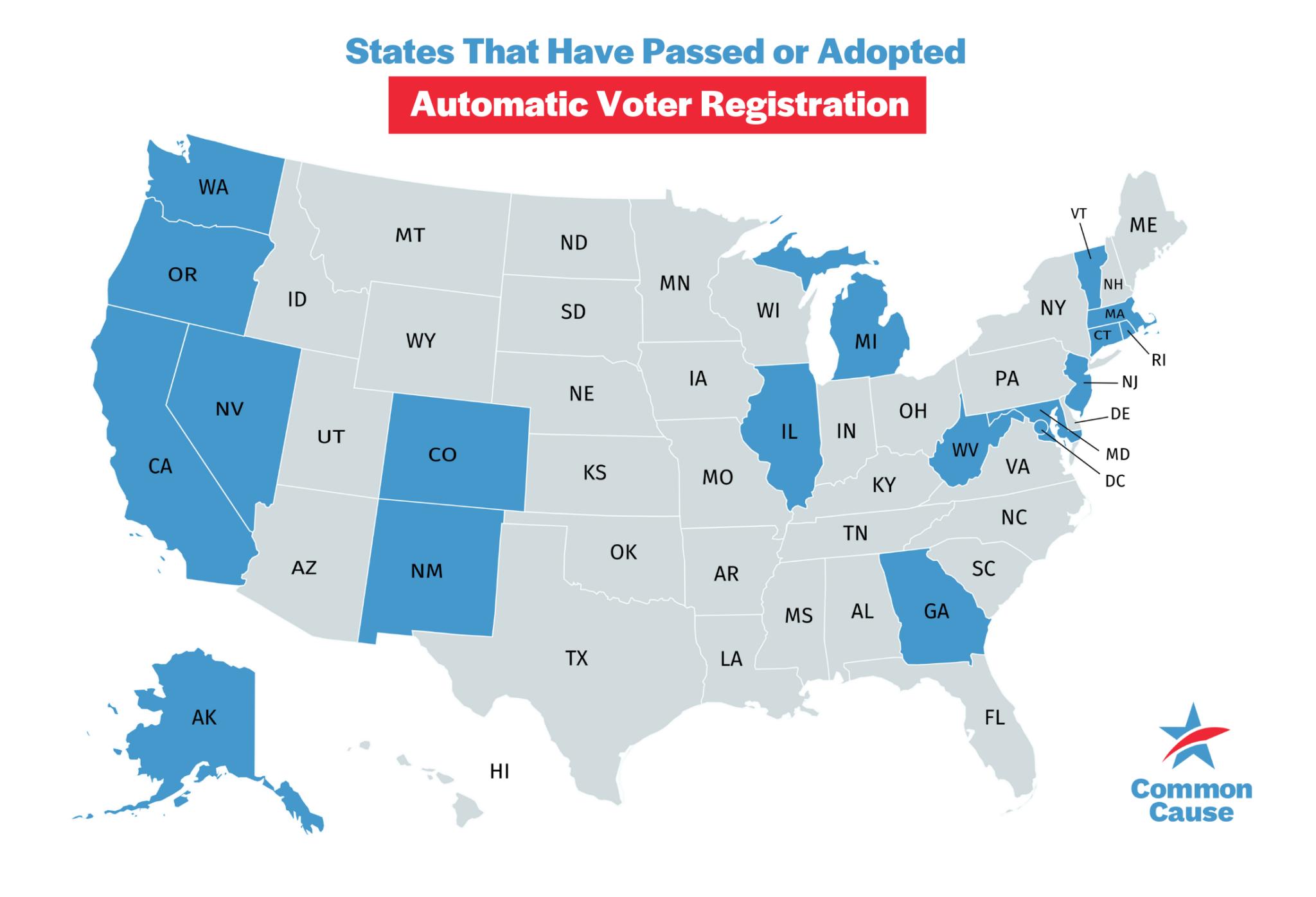 Voter Registration Modernization Common Cause