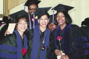Kamala Harris at Howard University graduation