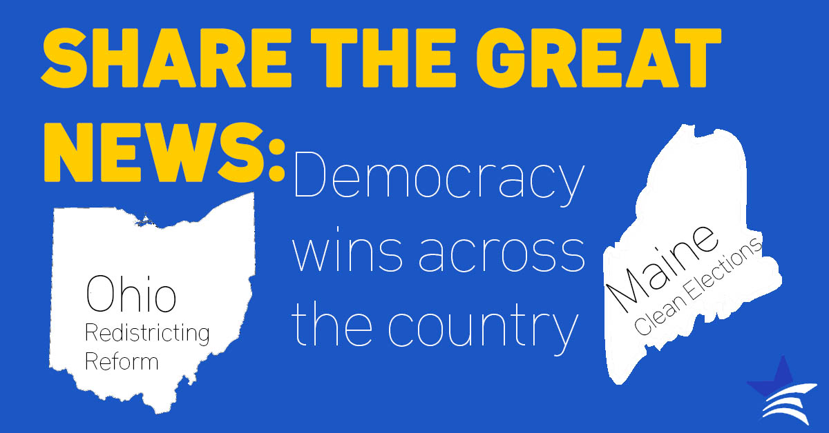 Three Big Democracy Wins